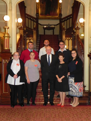 Governor greets NSW Indigenous Youth Parliamentarians
